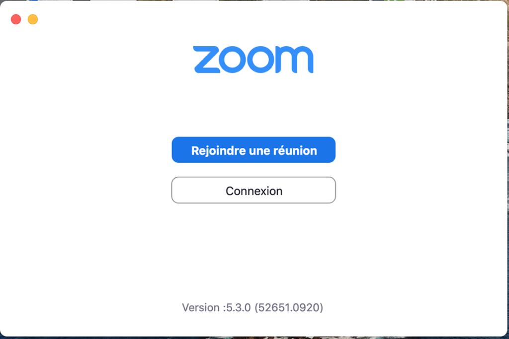 Launch Zoom App